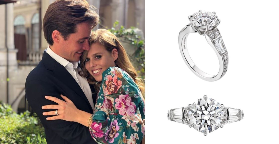 Shaun Leane Designs Princess Beatrice S Engagement Ring Cmj